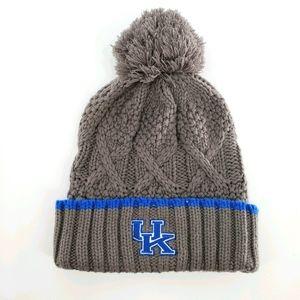NIKE University of Kentucky Cable Knit Pom Beanie